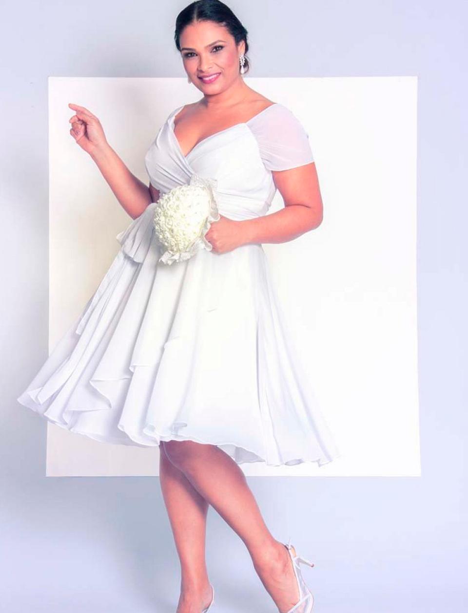 9a7c9a3967 Nova coleção de vestidos de noiva plus size