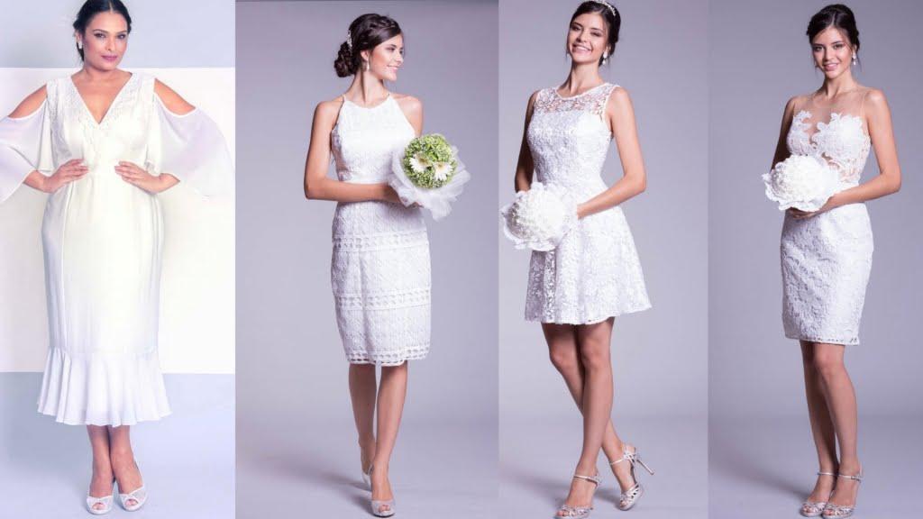 A Maison Arthur Caliman possui diversos modelos de vestido de noivado curto para deixar o dia da oficialização de compromisso ainda mais especial.