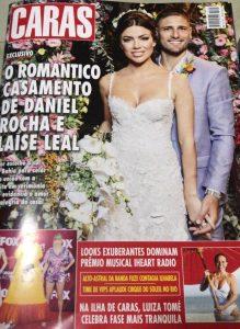 O romântico casamento de Daniel Rocha e Laise Leal