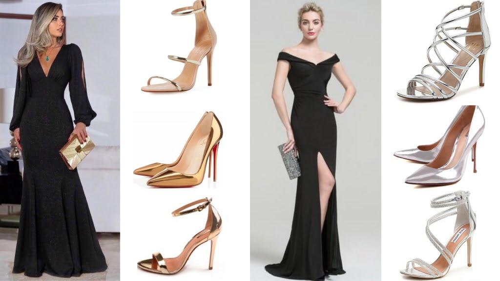 Que Sapato Usar Com Vestido Longo Preto Arthur Caliman
