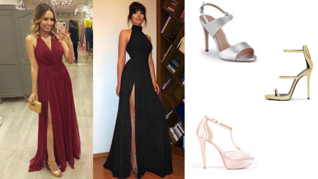 Se você quer valorizar um modelo de vestido mais simples, os sapatos metalizados são a escolha perfeita. Só não esqueça de buscar harmonia com os demais acessórios.