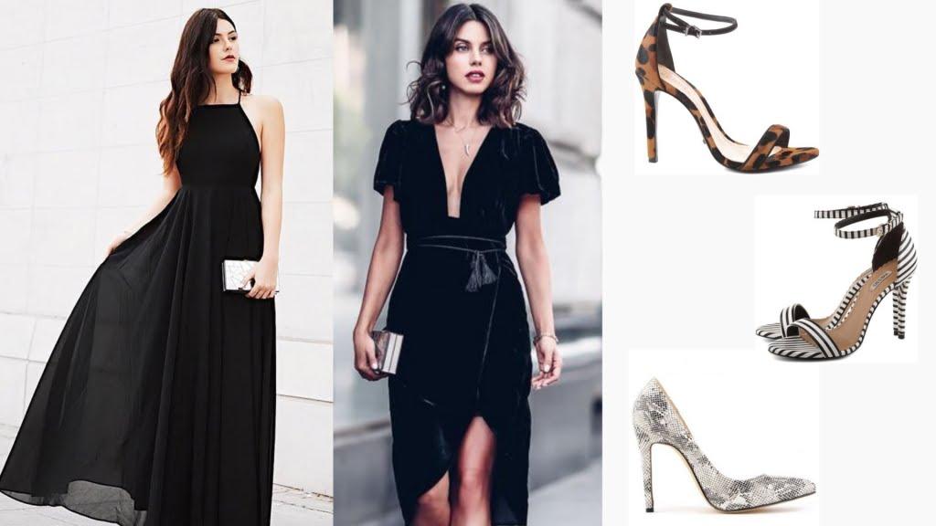 Combinar sapatos texturizados com vestidos de corte simples e cores sóbrias é uma forma de montar uma produção elegante e sem exageros.