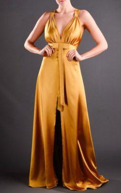Vestido de Festa Golden Kassis