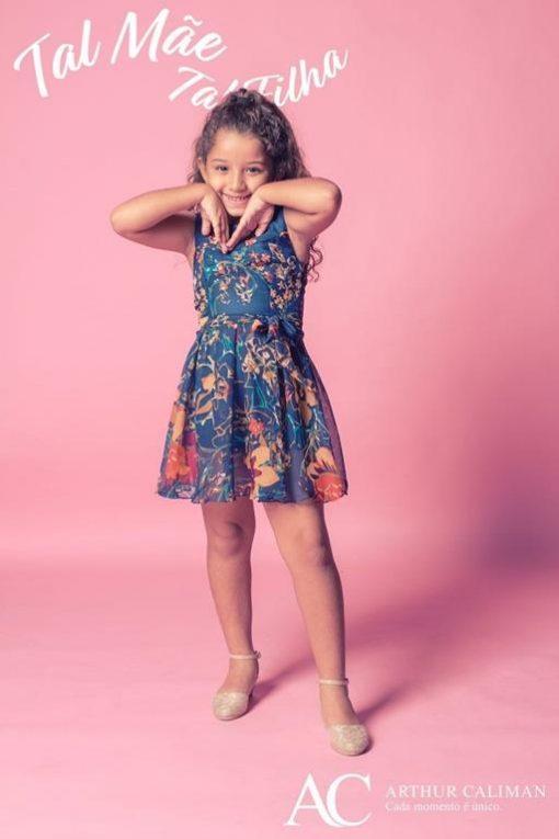 Vestido de Festa Infantil Prints