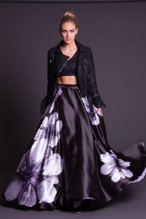 Vestido de Festa Longo Black