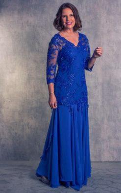 Vestido de festa Meryl Streep