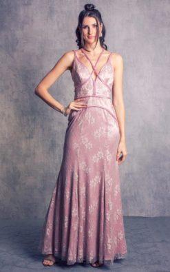 Vestido de Festa Rosê Delicado