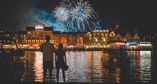 lembranças de ano novo de casais