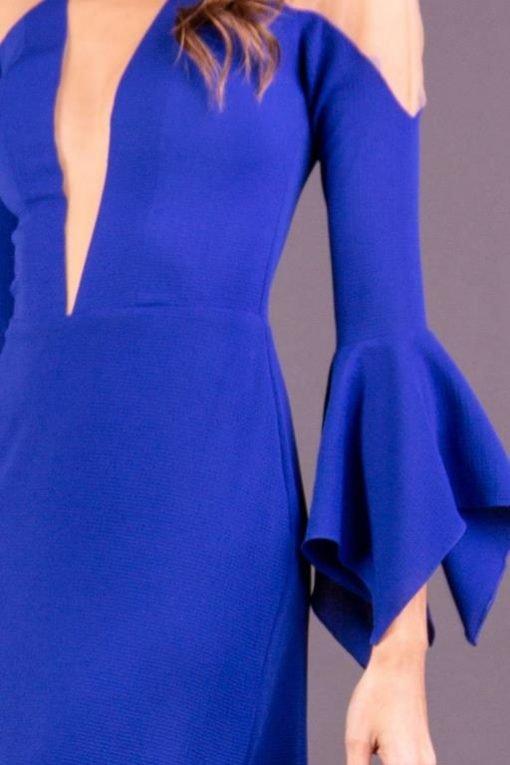 Vestido de Festa Curto Azul Royal
