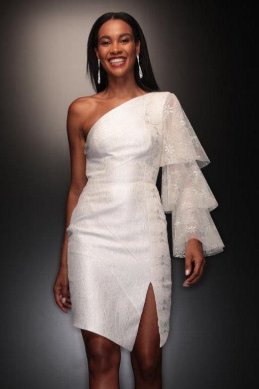 Vestido de Festa Curto de Réveillon Paola Andrade