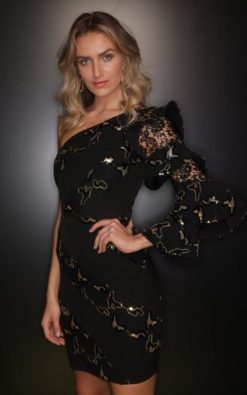 Vestido de Festa Curto Gigi Hadid