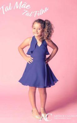 Vestido de Festa Curto infantil Bliss Blass