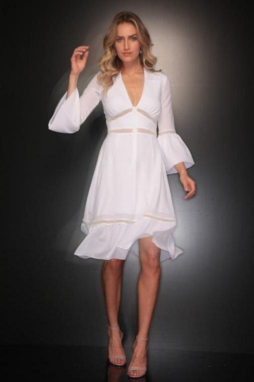 Vestido De Festa Curto Suzana Vieira para Réveillon