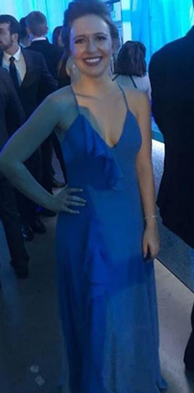 Vestido de Festa Longo Barbara Evans