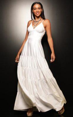 Vestido de Festa Longo Izzi Azalea para Réveillon 2020