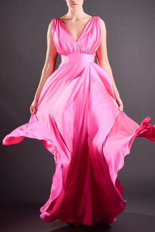 Vestido de Festa Longo Lily