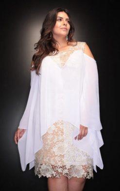 Vestido de Festa Plus Size de Réveillon Lilian Cabral
