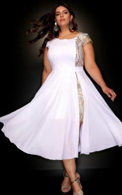 Vestido de Festa Plus Size de Réveillon Livia Andrade