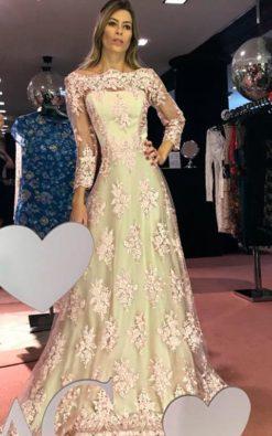 Vestido de Festa Rainha Di Monaco