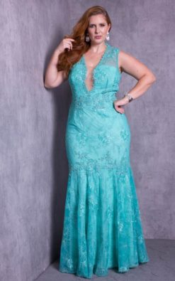 Vestido de Festa Shine Mermaid