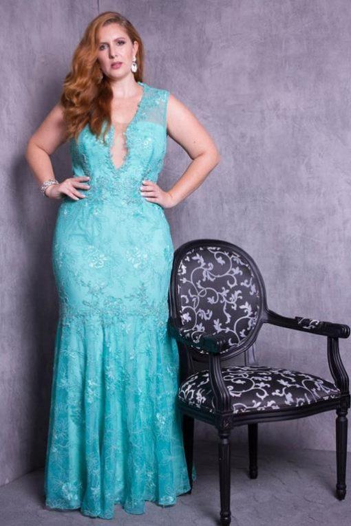 Vestido de Festa Shine Mermaid