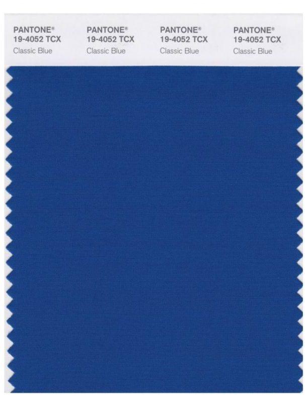 Classic Blue é a cor de 2020.