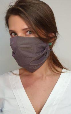 Máscara de Proteção de Pano Tecido Lavável