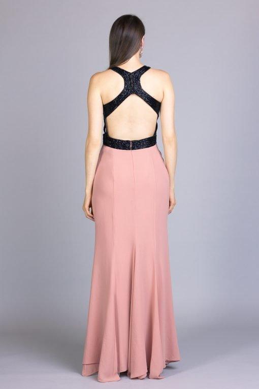 vestido longo de festa azzy