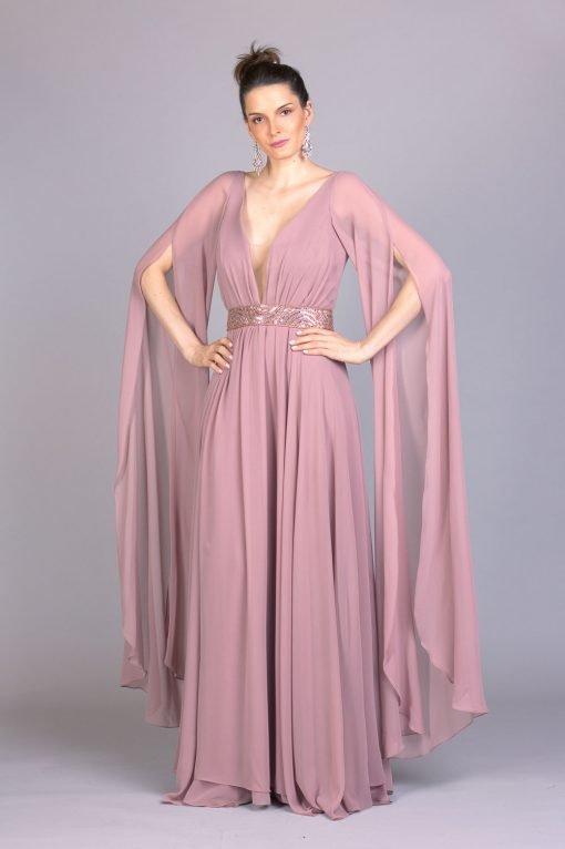 Vestido de festa cavali