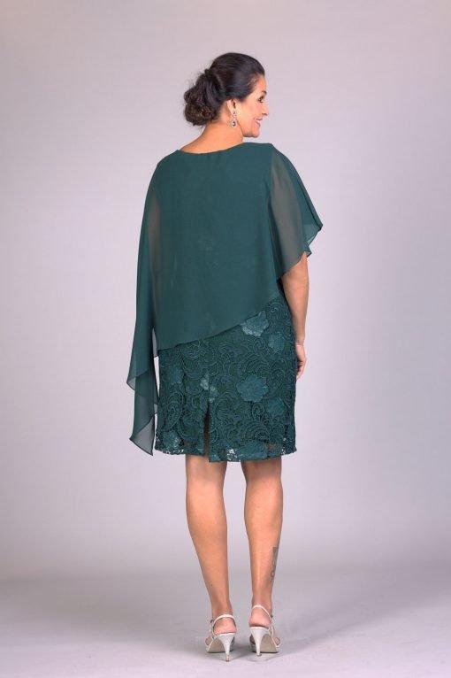 Vestido de festa curto rubia