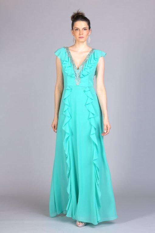 Vestido de festa elenita