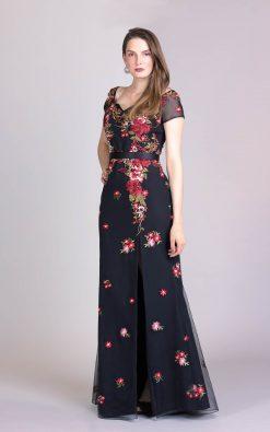 vestido de festa longo mariana