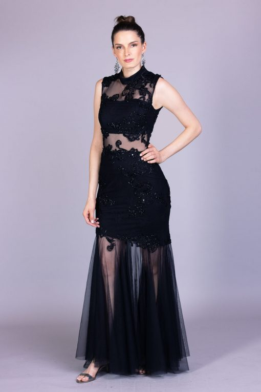 Vestido de festa melina