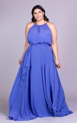 Vestido de festa plus size thaliah