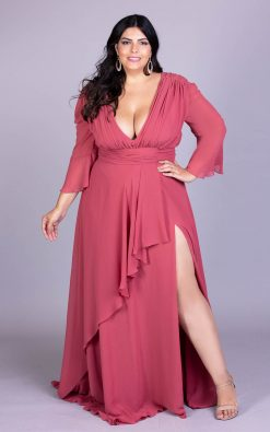 Vestido de festa plus size cellico