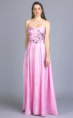 Vestido de festa tereza em jaquerd