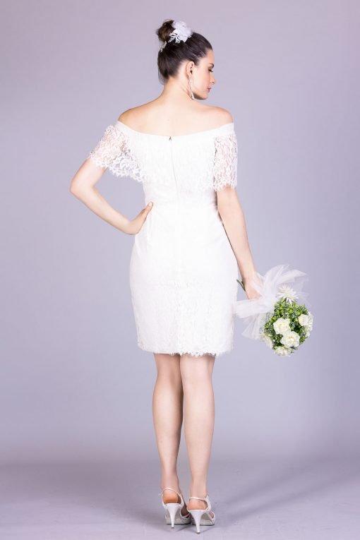 Vestido de noiva casamento civil gaby