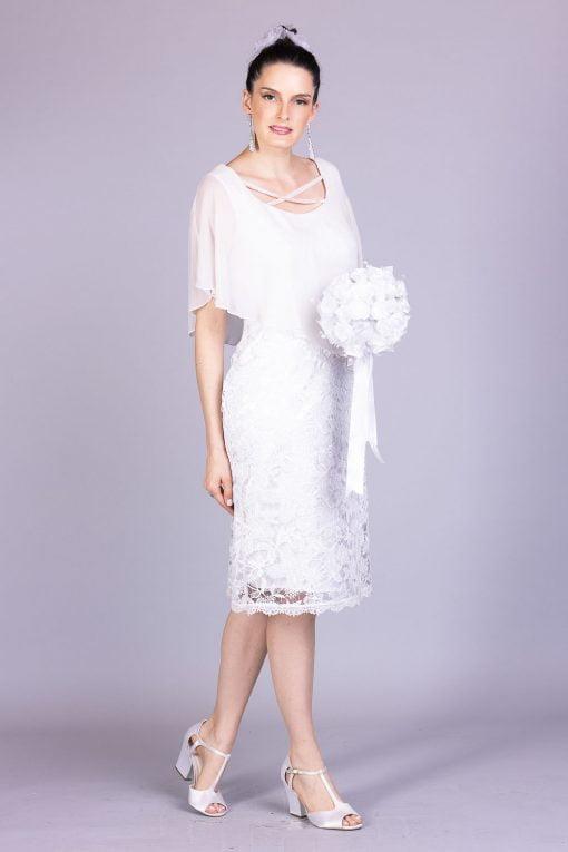 vestido de noiva casamento civil piovane