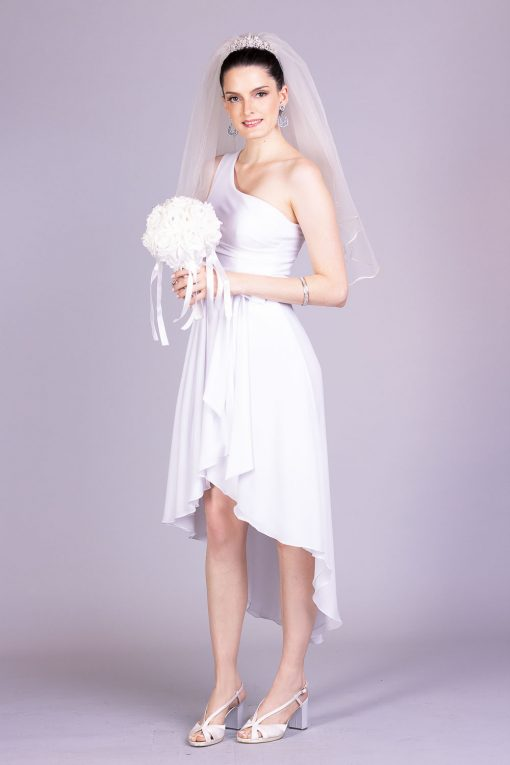 Vestido de noiva casamento civil mariana rios