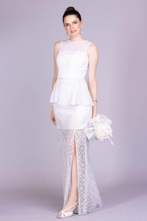 Vestido de noiva casamento na praia lily