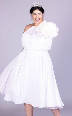 Vestido de noiva plus size carolaine
