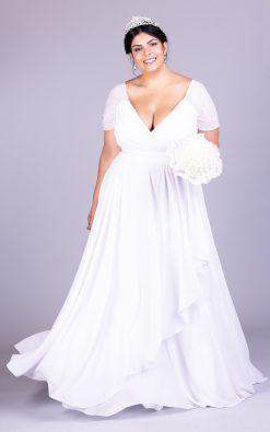 Vestido de Noiva Plus Size Carolline Ribeiro