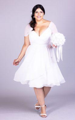 Vestido de noiva plus size margot