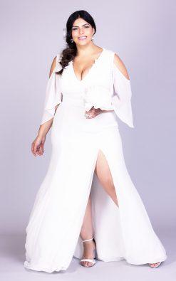 Vestido de noiva plus size silvia neves