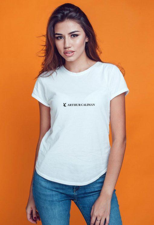 Camiseta feminina branca T6