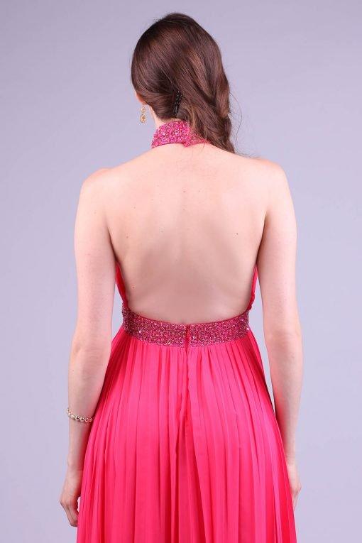 Vestido de festa rosa lily clarck