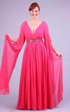Vestido de festa rosa mariah
