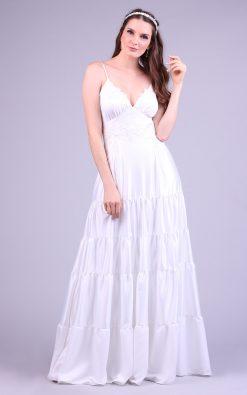 Vestido de noiva boho lui